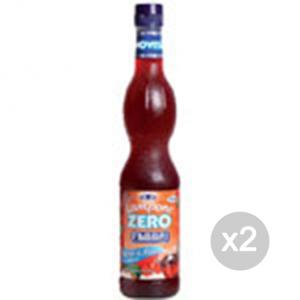 Set 2 FABBRI Sciroppo Zero kcal (rasp) Formato: 560 ml Integratori sportivi, benessere