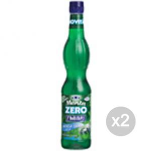 Set 2 FABBRI Sciroppo Zero kcal (Menta) Formato: 560 ml Integratori sportivi