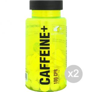 Set 2 4+ NUTRITION CAFFEINE+ Formato: 100 capsule Integratori sportivi, benessere