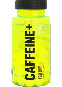 4+ NUTRITION CAFÉINE + Format: 100 capsules suppléments de sport, de la santé