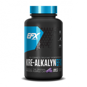 EFX Kre-Alkalyn Formato: 120 capsule Integratori sportivi, benessere fisico