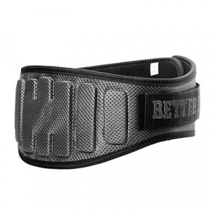 BETTERBODIES Pro Lifting Cintura Grey (XL) abbigliamento e accessori fitness