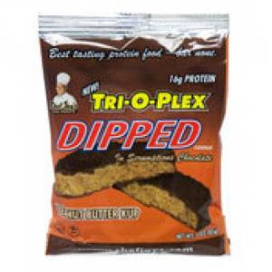 CHEF JAY Trioplex DIPPED Cookie gusto: Farina D'Avena Raisin Formato: 85 g