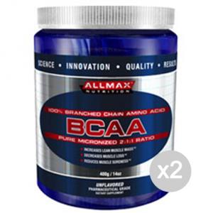 Set 2 ALLMAX BCAA 2: 1: 1 Format: 400 g suppléments de sport, bien-être physique