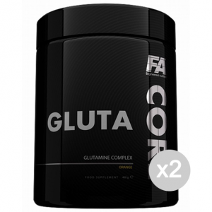 Set 2 FITNESS AUTHORITY Gluta Core gusto: Arancia Formato: 400 g. Integratori sportivi