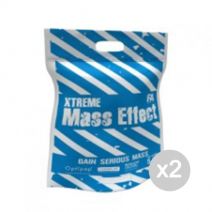 Set 2 FITNESS AUTHORITY Xtreme Mass Effect gusto: Cioccolato Bianco Formato: 5000 g.