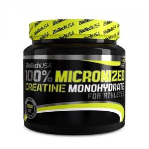 BIOTECH 100% Micronized Creatine Monohydrate Formato: 300 g. Integratori