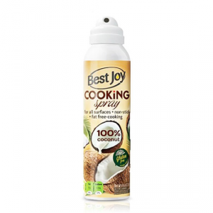 BEST JOY Cooking Spray 100% Coconut Formato: 201g Integratori sportivi
