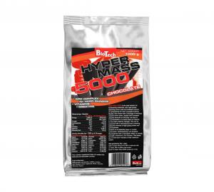 BIOTECH Hyper Mass 5000 gusto: Vanilla Formato: 1000 g Integratori sportivi