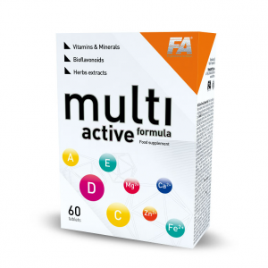 FITNESS AUTHORITY Multi Active Formula Formato: 60 Tablets Integratori sportivi
