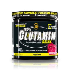 ALL STARS 100% Glutamin Drink Formato: 400 g. Integratori sportivi, benessere
