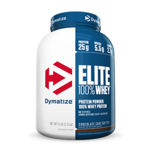 DYMATIZE Elite 100% Whey Protein gusto: Banana Formato: 2100g Integratori