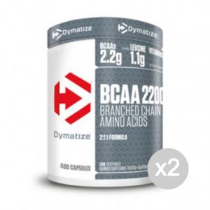 Set 2 DYMATIZE BCAA Complex 2200 Formato: 400 cpr Integratori sportivi, benessere