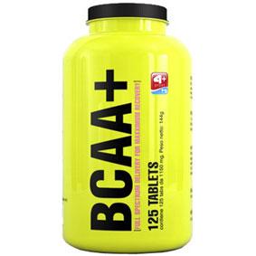 4+ NUTRITION BCAA+ Formato: 500 capsule Integratori sportivi, benessere fisico