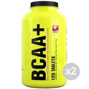 Set 2 4+ NUTRITION BCAA + 500 capsules suppléments de sport, bien-être physique