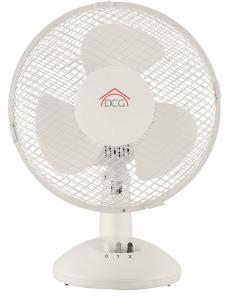 DCG ELECTRONIC Ve9025 Ventilatore Tavolo 25Cm Piccoli elettrodomestici Casa