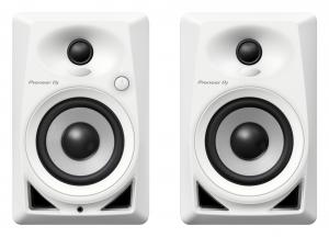PIONEER DJ 4-inch compact active monitor casse speaker (Coppia) - Bianco