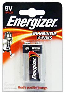 ENERGIZER Alkaline 9V 1 Pezzi Pile E Batterie