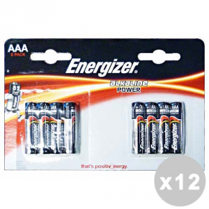 ENERGIZER Set 12 ENERGIZER Power ministilo aaa * 8 pz. - pile e torce