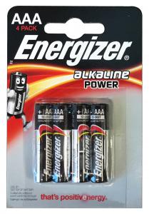 ENERGIZER Alkaline Aaa Ministilo 4 Pezzi Pile E Batterie
