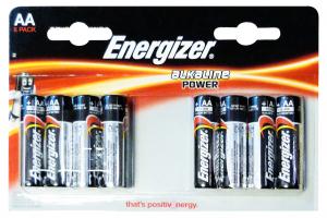 ENERGIZER Power aa stilo * 8 pz. - pile e torce