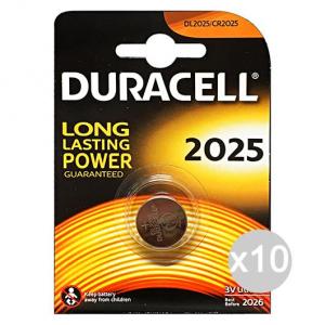 DURACELL Set 10 DURACELL Specialistiche 2025 3 volt * 1 pz. lithium