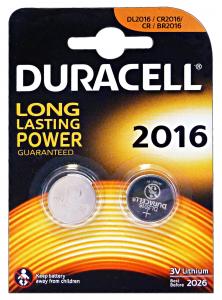 DURACELL Specialistiche 2016 3 Volt 2 Pezzi Lithium Pile E Batterie