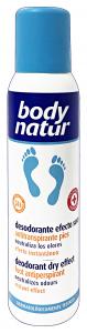 BODY NATURAL Deodorante Piedi 150 Ml. Cura dei Piedi