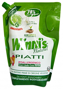 WINNI'S Detergent Dishes Concentrated Bag For crockery 1 gr
