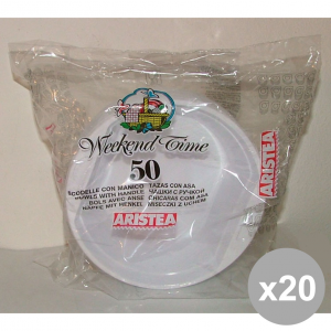 Set 20 SCODELLA * 50 Pieces WHITE Article 260020 Bowls