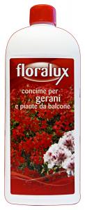 FLORALUX Concentrato Liquido GERANEI-Piante DA BALCONE 1 KG. Detergenti Casa