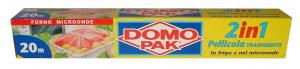 DOMOPAK Pellicola 2 in 1 20 mt. - Avvolgenti e sacchetti alimenti