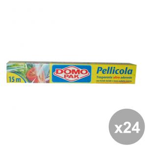 Set 24 DOMOPAK PelliCOLA 15 MT. Contenitori per la cucina