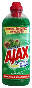 AJAX Pavimenti Freschezza Pino 1 Lt. Detergenti Casa