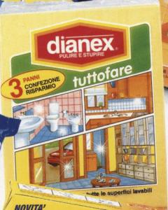 DIANEX 3 Panni Tuttofare Attrezzi Pulizie