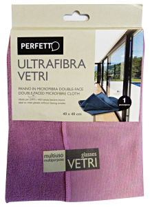 PERFETTO Cloth Glasses Ultrafibre 40x40 0319A Tools Cleaning