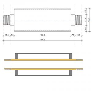 ACQUAVIB Dispositivo Anticalcare Elettromagnetico 1/2