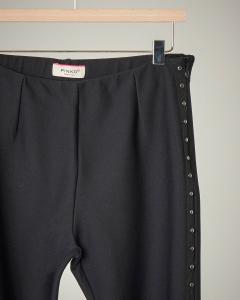 Pantalone nero borchie S-XL