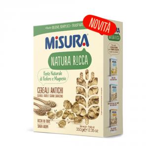 MISURA Cereali Antichi Natura Ricca Confezione Da 350 Grammi - Made In Italy