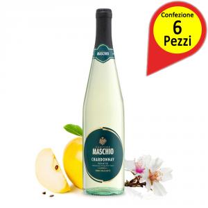 CANTINE MASCHIO Chardonnay Veneto Igt Cl.75 Confezione Da 6 Vino Italiano