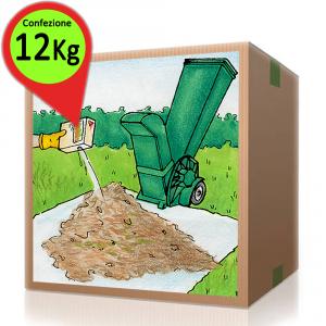 'AZIMUTHCOMPOST Attivatore Compostaggio ''Compost'' Confezione Risparmio Da 12 Kg'