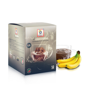 Dersut Cioccolino Ready To Drink - Chocolate Banana 12 Bust. - 25 G Made in Italy
