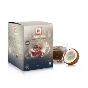 Dersut Cioccolino Ready To Drink - Chocolate Coconut Bust 12. - 25 G Made In Italy