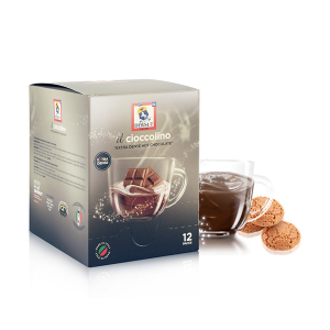 Dersut Cioccolino Ready To Drink - Chocolate Amaretto 12 Bust. - 25 G Made In Italy