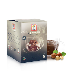 Dersut Cioccolino Ready To Drink - Chocolate Hazelnut 12 Bust. - 25 G Made in Italy