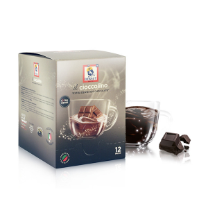 Dersut Cioccolino Ready To Drink - Dark Chocolate 12 Bust. - 25 G Made in Italy