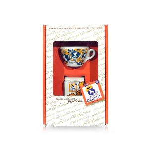 Dersut paquete mezcla especial de café molido Sp 125 g + 1 La Copa 'decorado una sorpresa Made in Italy