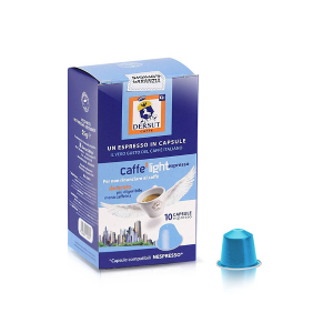 Dersut Capsule café léger Compatible Nespresso® 10 Capsules - 5,5 G Made in Italy