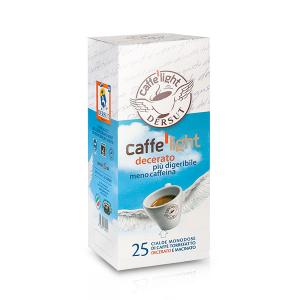 DERSUT Cialde Di Caffè Decerato Light 25 Cialde - 7 G Made in Italy