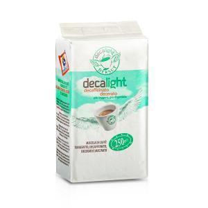 DERSUT Miscela Di Caffè Macinato Decerato Decaffeinato Decalight - 250 G Made in Italy